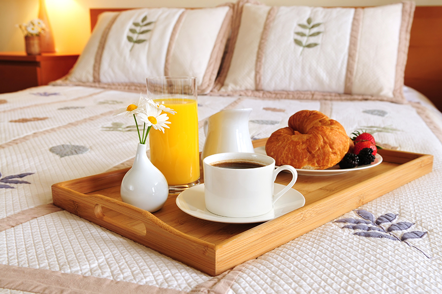 Een bed and breakfast zou geen bed and breakfast zijn als een luxe ...