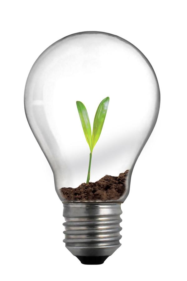 Door voor duurzame lichtbronnen te kiezen kun je enorm besparen op onder andere kantoorverlichting.