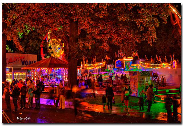 Kermis Volkspark Enschede