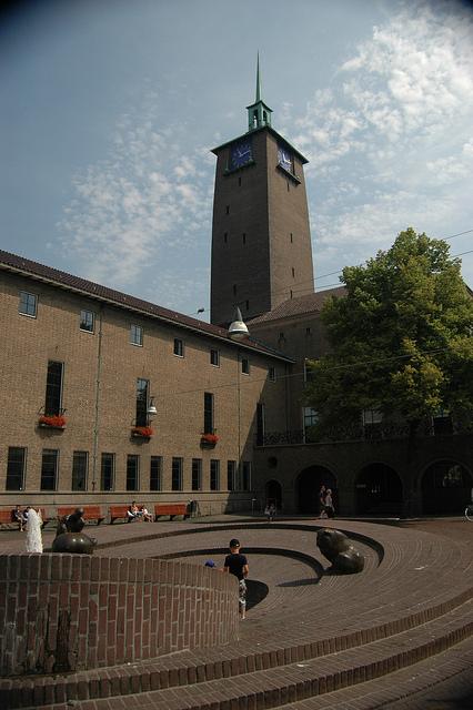 Klokkentoren in Enschede
