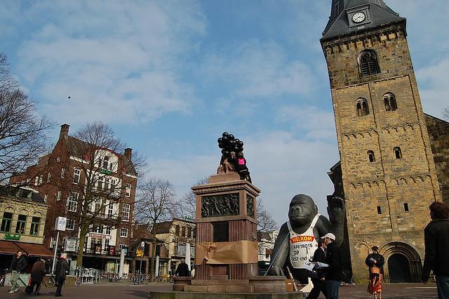 Plein in Enschede
