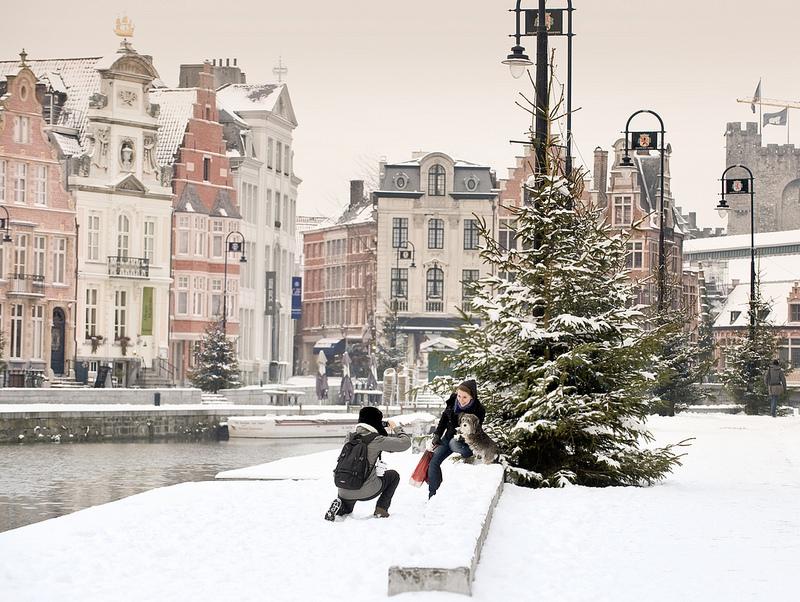 Winter in Gent
