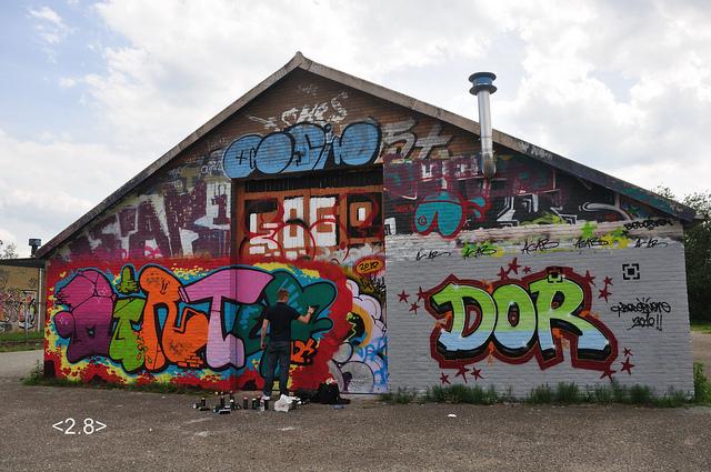 Graffitischuur Hengelo