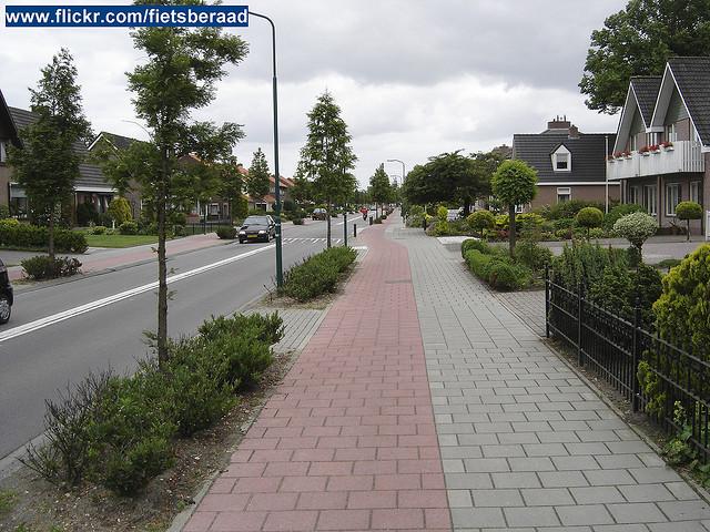 Een willekeurige straat in Veenendaal