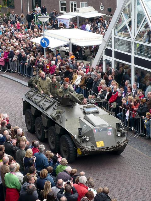 Tank in Wageningen
